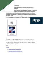 Constitución de la República Dominicana INOFRMACION SOBRE SU LEY