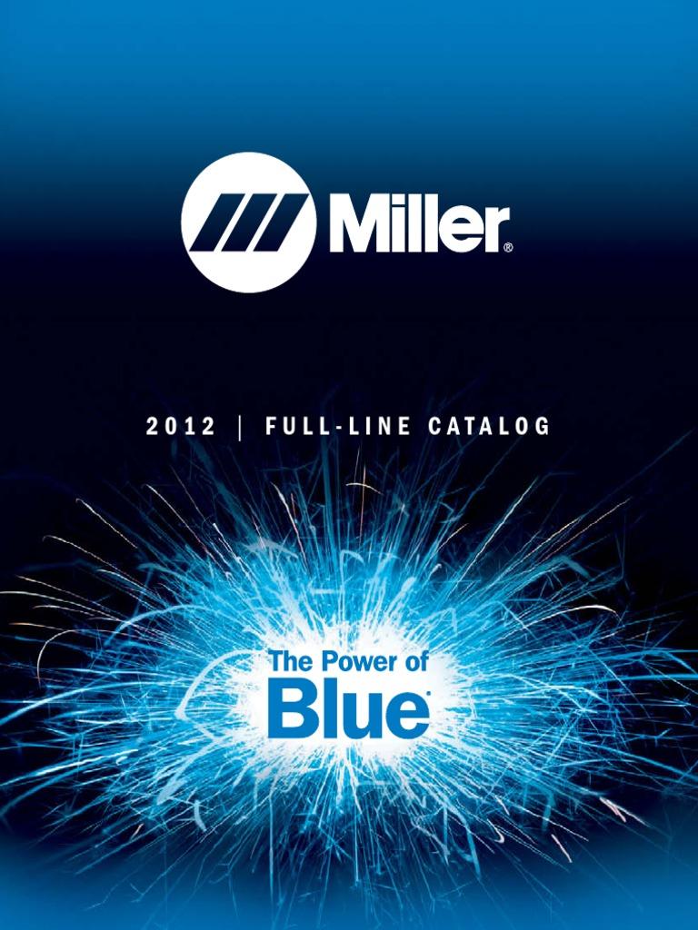 Catalogue Miller 2012 | Welding | Materials