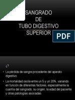 Sangrado de Tubo Digestivo Superior