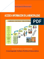 ACCESO A INFORMACION EN LA MUNCIPALIDAD (El Salvador)