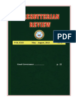 Presbyterian Review - May_August, 2013