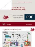 DVB H Presentation