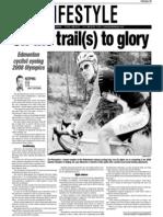 Tim Heemskerk, Keeping Fit, Sun Media (Aug. 10, 2006)