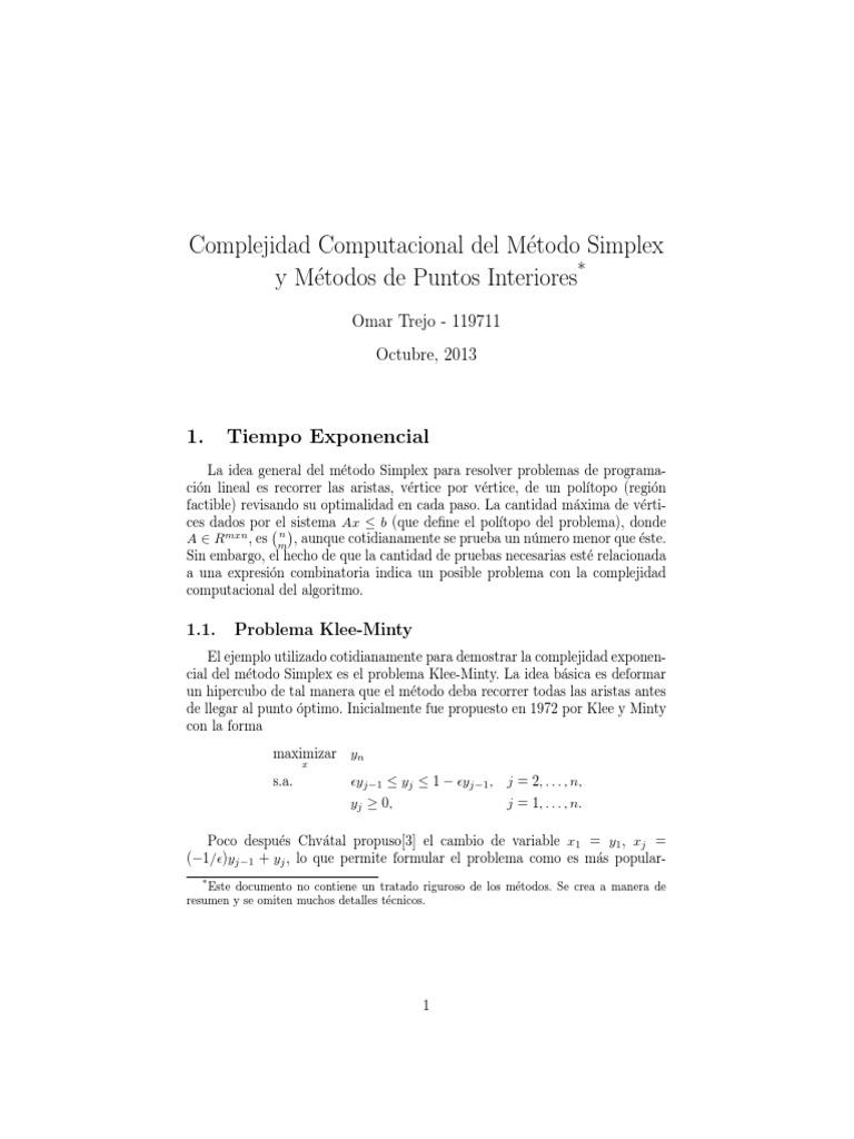 Programas computacionales del mtodo simplex softwaremac ej2g ccuart Image collections
