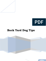 Back Yard Dog Tips