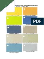 Colores Originales
