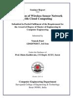 Sensor-Cloud Infrastructure - Survey Report