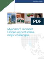 MGI Myanmar Opportunities Full Report June 2013