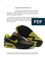 Nike Air Max 90 Hyperfuse Shoes Black Green