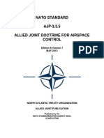 NATO AJP-3.3.5 Allied Joint Doctrine for Airspace Control (2013) uploaded by Richard J. Campbell
