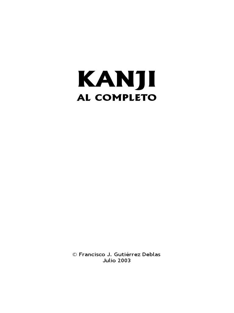 Kanji Al Completo c19ed78939e0