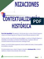 B2 - ORGANIZACIONES - CONTEXTUALIZACIÓN HISTÓRICA