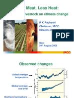 2008 Chief of IPCC Lessmeatlessheat