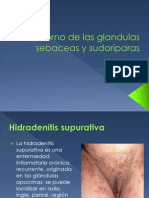 Trastorno de las glandulas sebaceas y sudoriparas.pptx