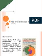A crítica pós-moderna e os movimentos sociais