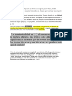 GENETTE-Intertextualidad según Rifaterre