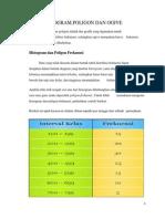 Histogram,Poligon &Ogive