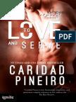 TO LOVE AND SERVE Vampire Romantic Suspense - For Mature Audiences
