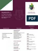 Programa Entronização 2013