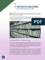 Archivos militares dictadura 1980
