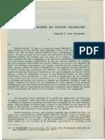 El Agua y La Muerte en Gaston Bachelard