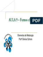AULA 9 _ Fornos elétricos