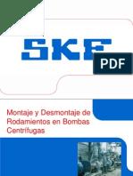 Montaje y Desmontaje de Rodamientos en Bombas Centrífugas