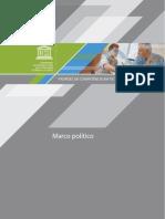 Padrões de competência em TIC para professores - Marco político