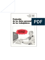 Trabajadores - Protección de sus Datos Personales