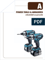 Power Tools Accessories and Abrasives