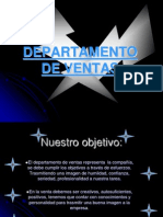 Departamento de Ventas