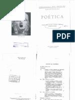 A Poetica de Aristóteles - Comentários e Apêndices