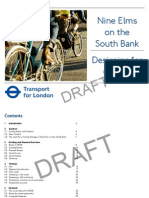 TfL draft cycling strategy for nine elms