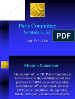 ARA ProPresentationto CIC July 2008