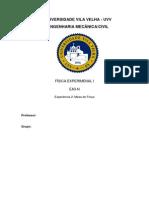 Relatório Mesa de Força
