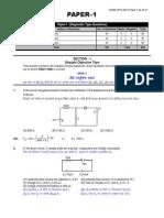 Resonance JEE paper 1 practice.pdf