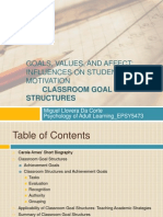 goals values and affect