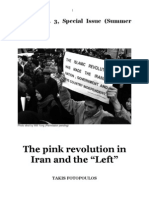 "The pink revolution in Iran and the ""Left"" (Book) - Takis Fotopoulos"