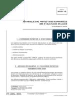 TECHNIQUES DE PROTECTIONS RAPPORTÉES DES STRUCTURES EN ACIER-1999