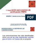 Preparacion Para Pmp, Sesion 7, Gestion de Las Comunicaciones