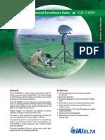 AGSR - Advanced Ground Surveillance Radar - ELM-2140NG