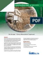 Persistent Ground & Coastal Surveillance Radar - ELM-2112 (V1)