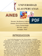 aines farmacoloogia