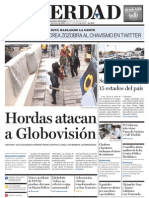 Portada del Diario La Verdad de Maracaibo (90804)