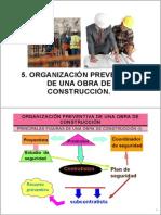 05 Organizacion Preventiva de Una Obra de Construccion