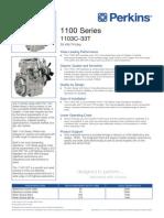 1103C-33T Engine PN1701
