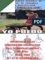 20 y 21 Set.2013 Personas Con Discapacidad