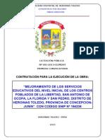 Mejoramiento de Los Servicios Educativos Del Nivel Incicial de Los Centros Poblados, La Libertad
