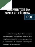 Elementos da sintaxe fílmica