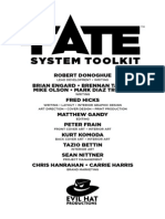 Fate System Toolkit Partial Art